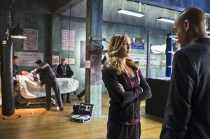 Arrow - Guilty - Laurel and Quentin Lance