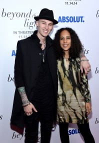 Larry Busacca/Getty Images Rapper Machine Gun Kelly (L) and director Gina Prince-Bythewood