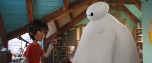 Disney Hiro and Baymax