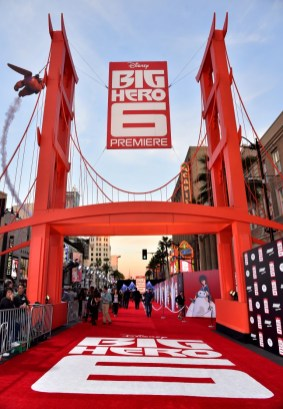 Alberto E. Rodriguez/Getty Images A view of the atmosphere at the Los Angeles premiere.