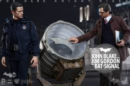 Hot Toys The Dark Knight Rises - Blake and Gordon - main
