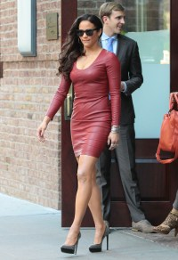 paula-patton-hot-leather-dress