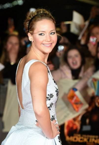 The Hunger Games - Mockingjay premiere - Jennifer Lawrence