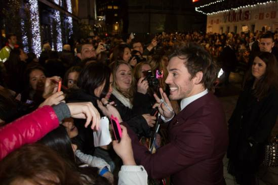 The Hunger Games - Mockingjay premiere - Sam Claflin