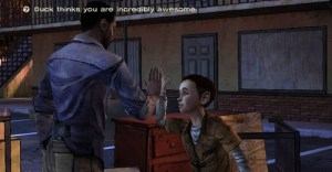 The Walking Dead Season 1 - Lee and Duck