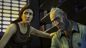 The Walking Dead Season 1 - Lilly and Larry