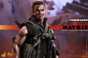 Hot Toys Commando - John Matrix figure - standing tall