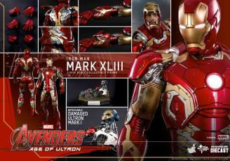 Hot Toys Iron Man Mark XLIII figure - collage 2