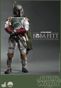 Hot Toys Return of the Jedi Boba Fett figure - relaxing