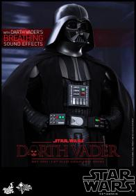 Hot Toys Star Wars Darth Vader figure - hands on hip