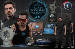Hot Toys Tony Stark Iron Man 2 figure - collage