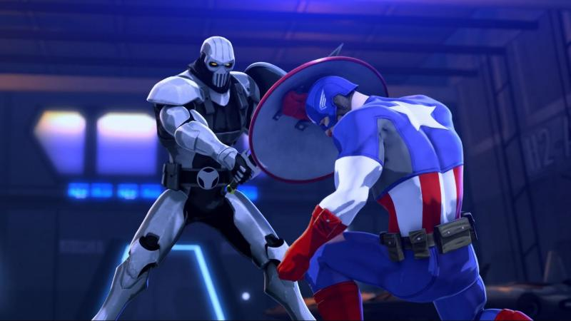 Iron Man and Captain America - Heroes United - Taskmaster vs Cap