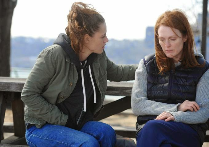 Still Alice - Kristen Stewart and Julianne Moore