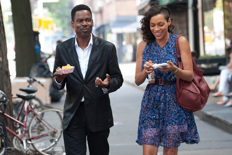 Top Five - Chris Rock and Rosario Dawson