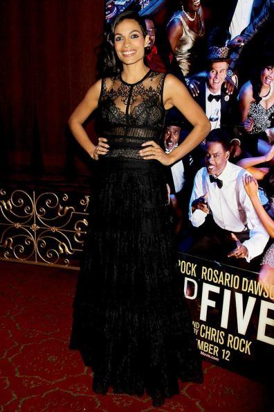 Top-Five-NY-Premiere - Rosario Dawson