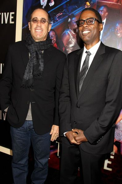Top-Five-NY-Premiere - Seinfeld and Rock