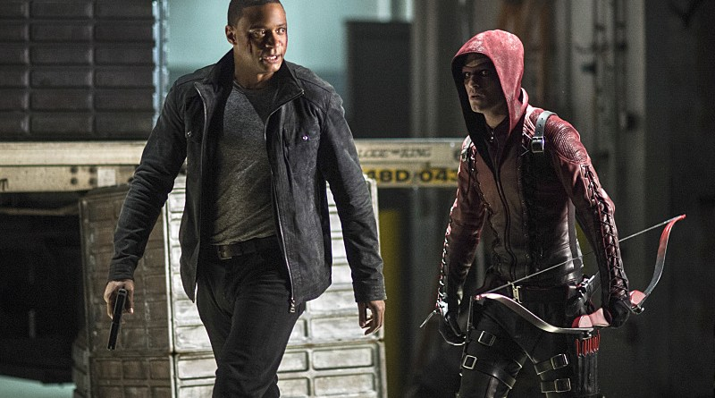 Arrow - Left Behind - Diggle and Arsenal2