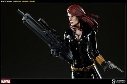 Black Widow - Marvel Premium Format Figure - black on black