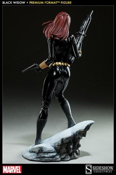 Black Widow - Marvel Premium Format Figure - rear shot