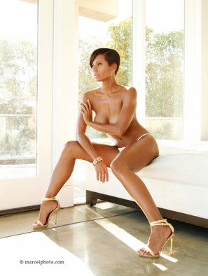 Candace Smith - topless model shoot