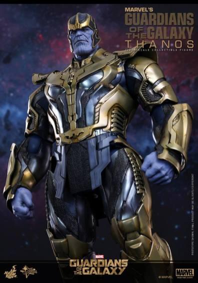 Hot Toys Thanos - profile shot