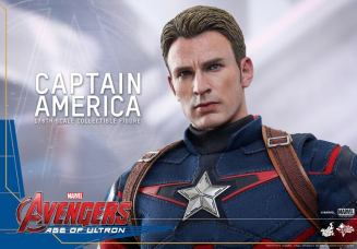 Hot Toys The Avengers Age of Ultron Captain America - thoughtful Steve