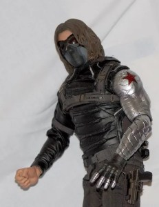 Hot Toys The Winter Soldier - mask on inside
