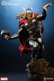 Thor Marvel Premium Format Figure - long shot with base