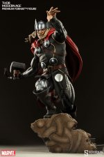 Thor Marvel Premium Format Figure - looking up from base