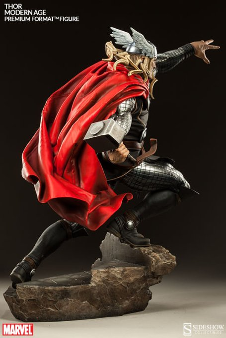Thor Marvel Premium Format Figure - rear shot