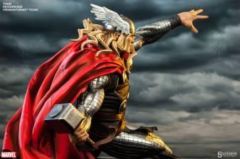 Thor Marvel Premium Format Figure - side rear