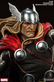 Thor Marvel Premium Format Figure - tight shot of head