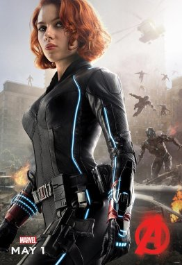 Black Widow Avengers Age of Ultron poster