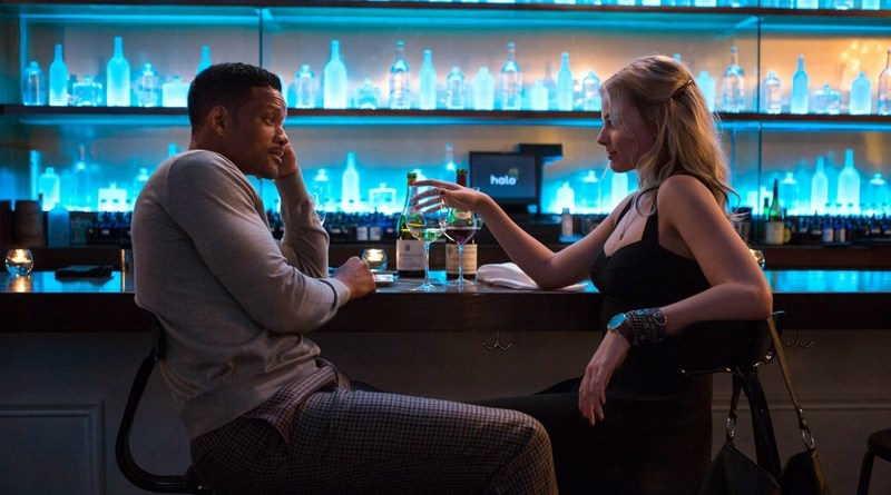 Focus movie 2015 -Will Smith and Margot Robbie-001