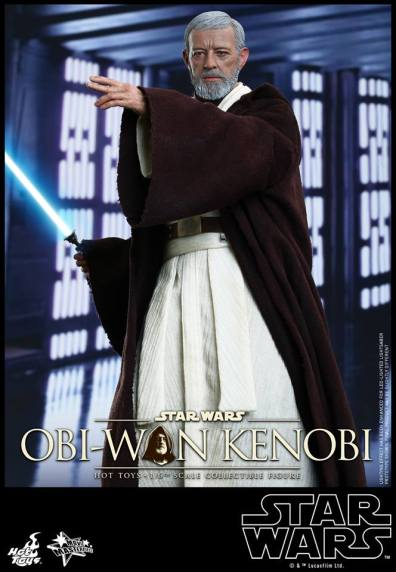 Hot Toys Obi Wan Kenobi - arm up