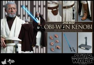 Hot Toys Obi Wan Kenobi - collage