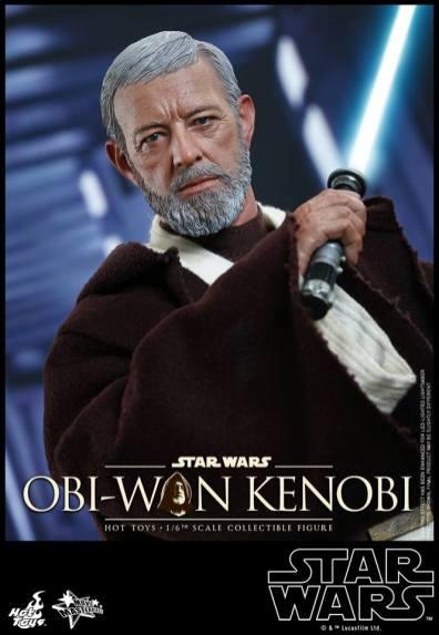 Hot Toys Obi Wan Kenobi - lightsaber ready