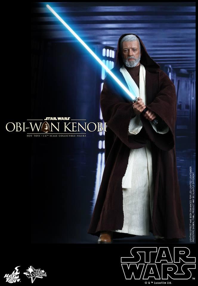 Hot Toys Obi Wan Kenobi - on guard