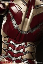 Iron Man Mark 42 maquette - armor detail rear
