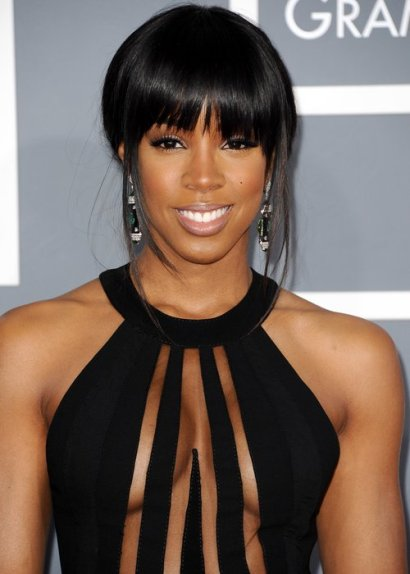 Kelly Rowland - black see through