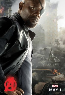 Nick Fury Avengers Age of Ultron poster