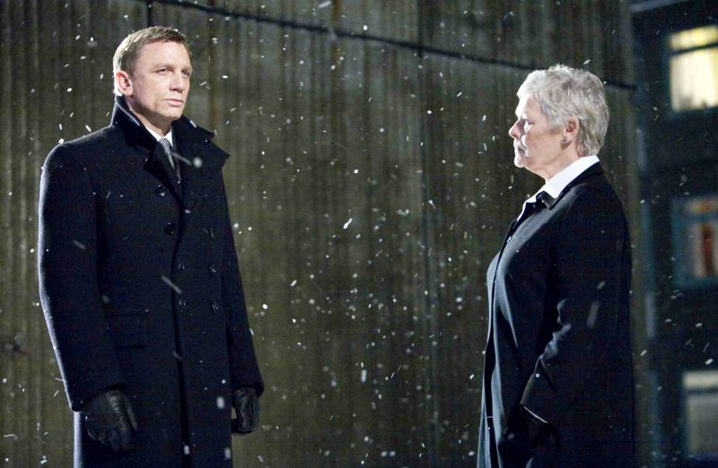 quantum_of_solace - daniel craig and judi dench