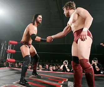 the shield - daniel bryan vs seth rollins