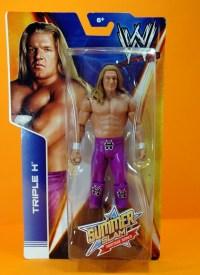 Triple H Basic Summerslam Heritage figure - in package close up