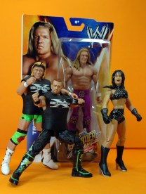Triple H Basic Summerslam Heritage figure - in package with DX