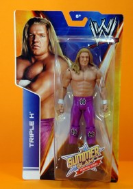 Triple H Basic Summerslam Heritage figure - in package