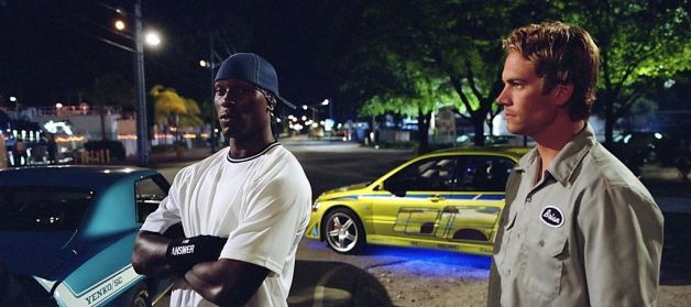 2 Fast 2 Furious - Tyrese and Paul Walker