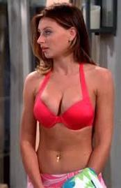 Aly Michalka- red bikini
