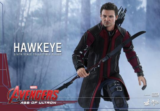 Avengers Age of Ultron Hawkeye figure - running tight