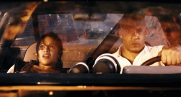 Fast & Furious - Michelle Rodriguez and Vin Diesel
